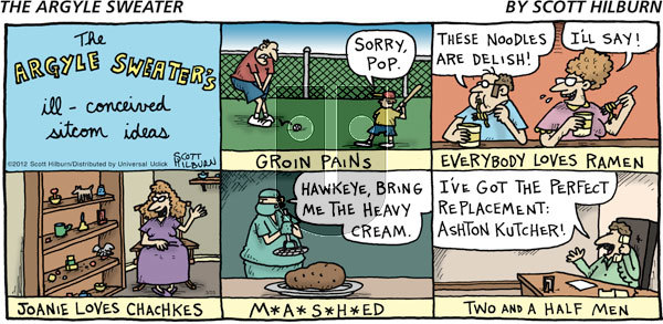 The Argyle Sweater on Sunday March 25, 2012 Comic Strip
