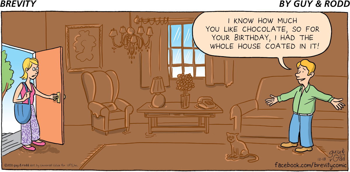 Brevity Comic Strip for December 18, 2011