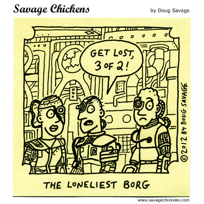 Get lost, 3 of 2! The Loneliest Borg