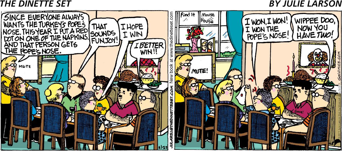 The Dinette Set Comic Strip for September 22, 2021