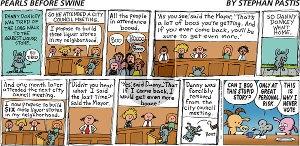 Pearls Before Swine on Sunday March 22, 2020 Comic Strip