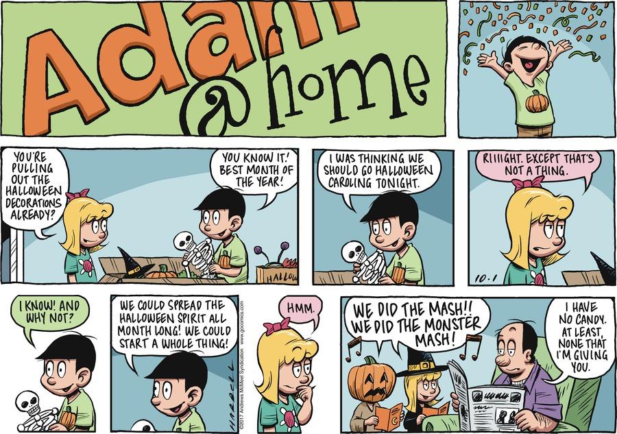 Adam@Home for Oct 1, 2017 Comic Strip