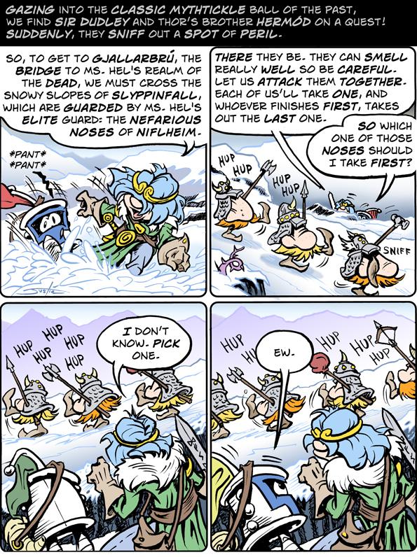 MythTickle for Feb 21, 2018 Comic Strip