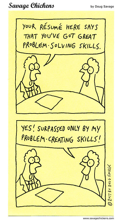 Savage Chickens Comic Strip for July 30, 2021