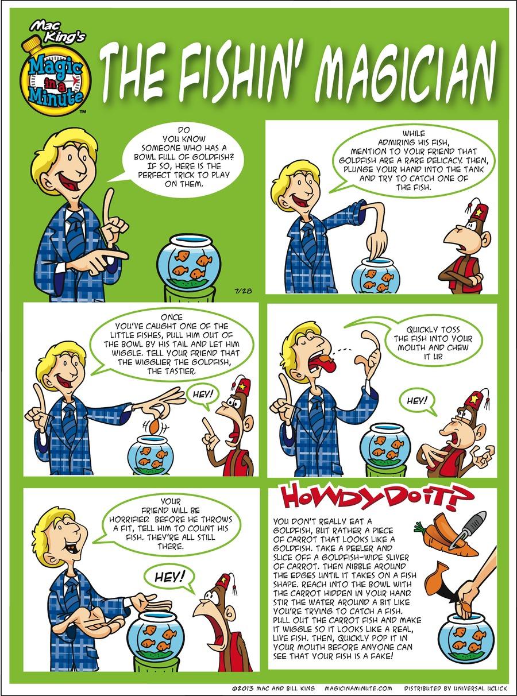 Magic in a Minute for Jul 28, 2013 Comic Strip