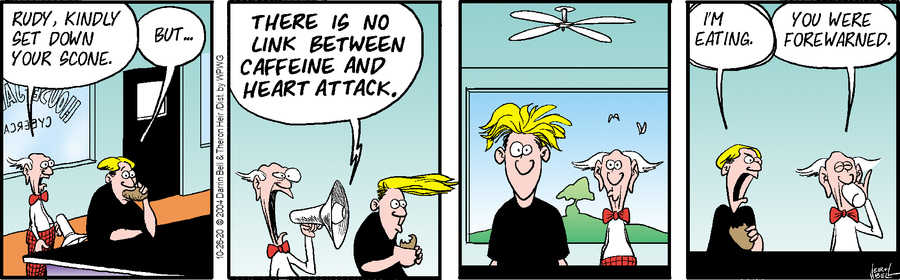 Rudy Park Comic Strip for October 26, 2020