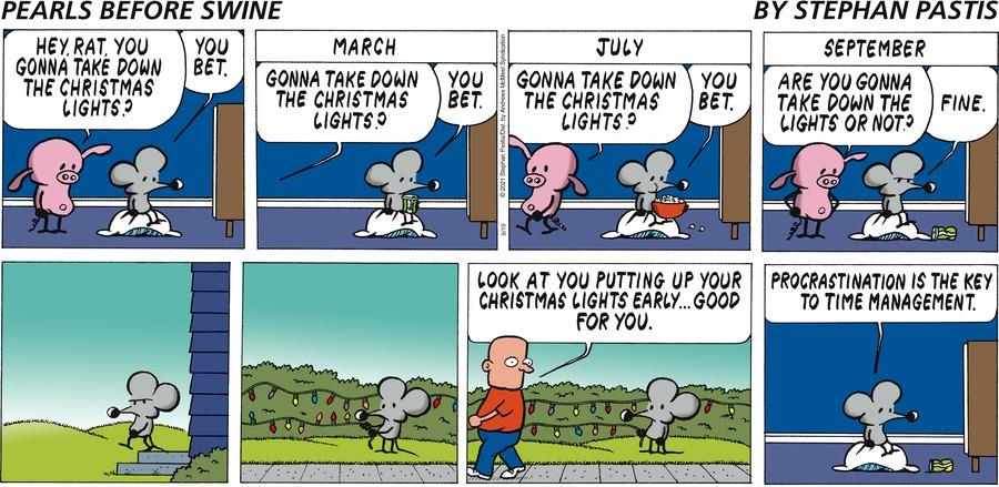 Pearls Before Swine Comic Strip for September 19, 2021