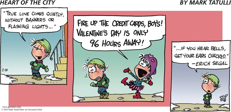 Heart of the City for Feb 10, 2013 Comic Strip