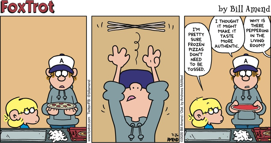 FoxTrot Comic Strip for July 26, 2020