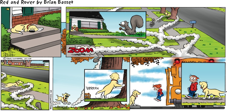Red and Rover for Oct 14, 2012 Comic Strip