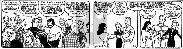 Alley Oop - Thursday March 21, 1946 Comic Strip