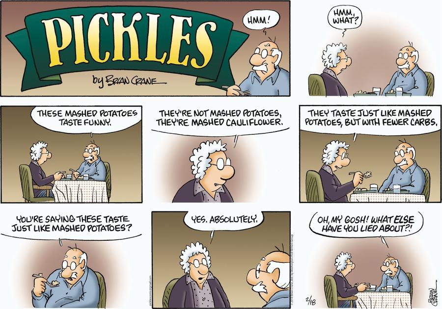 Pickles for Feb 18, 2018 Comic Strip