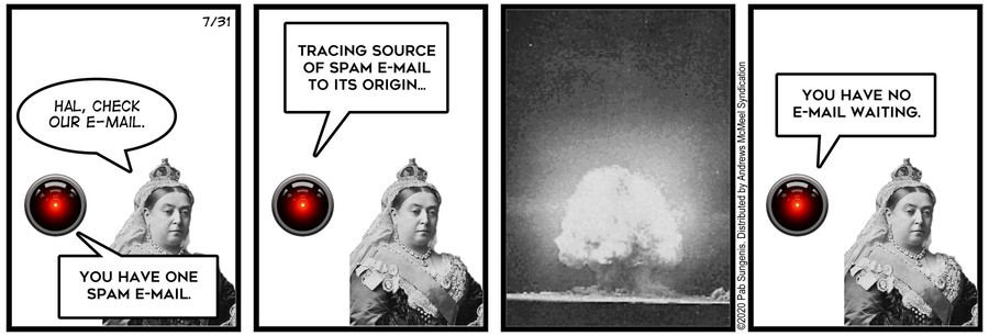 New Adventures of Queen Victoria Comic Strip for July 31, 2020