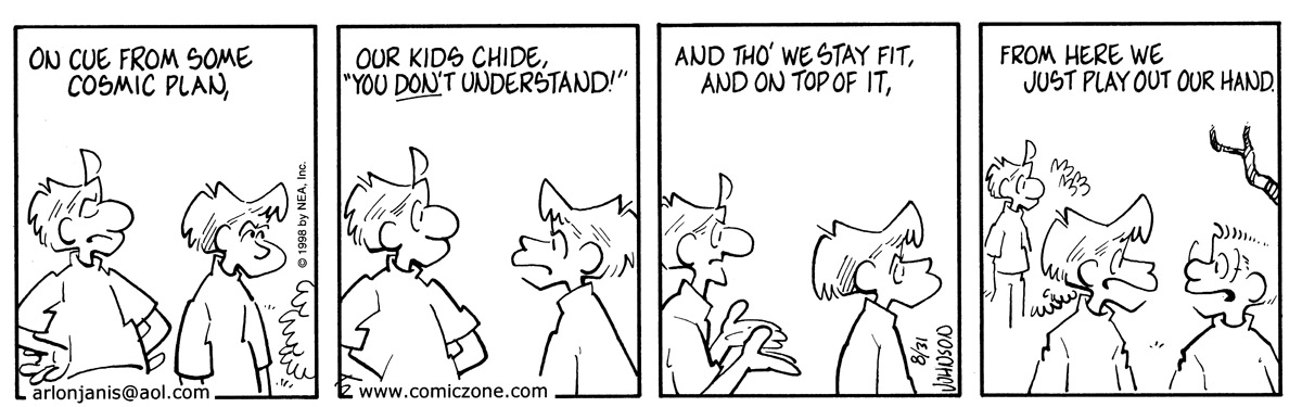 Arlo and Janis for Aug 31, 1998 Comic Strip