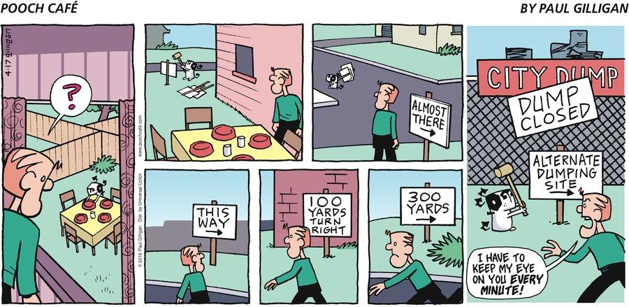 Pooch Cafe Comic Strip for April 17, 2016