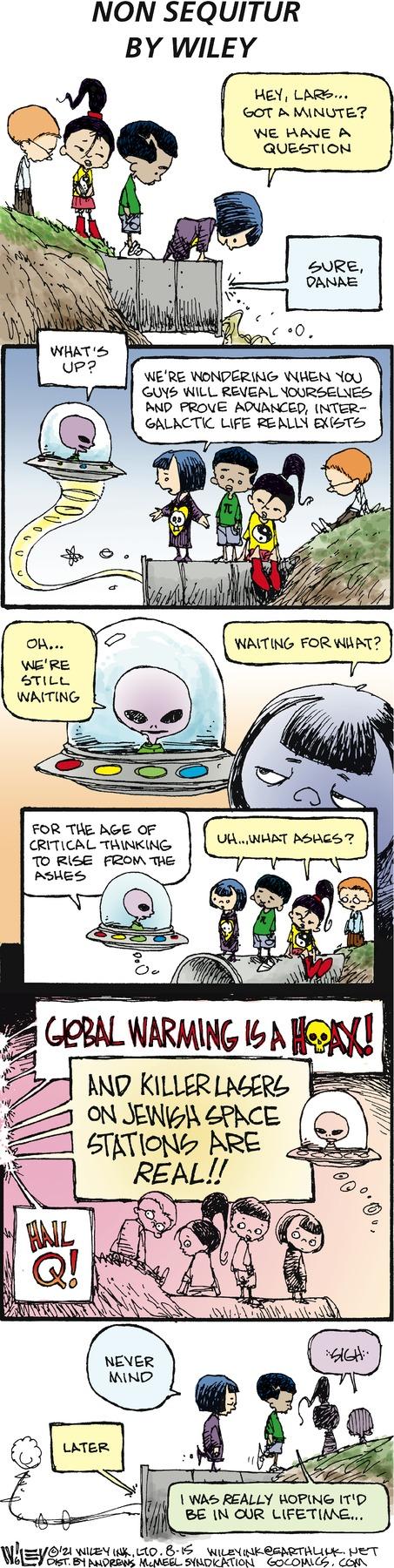 Non Sequitur Comic Strip for August 15, 2021