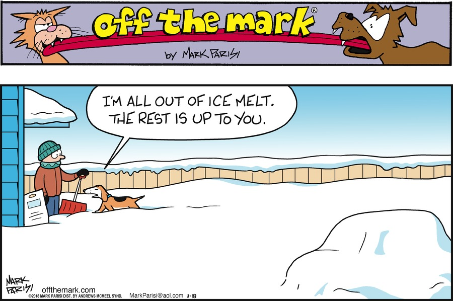 Off the Mark for Feb 18, 2018 Comic Strip