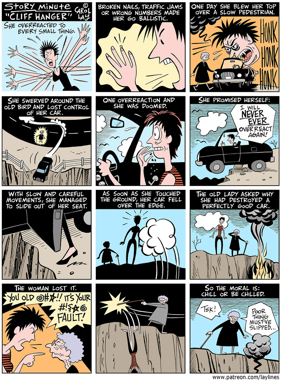 Lay Lines Comic Strip for July 20, 2020