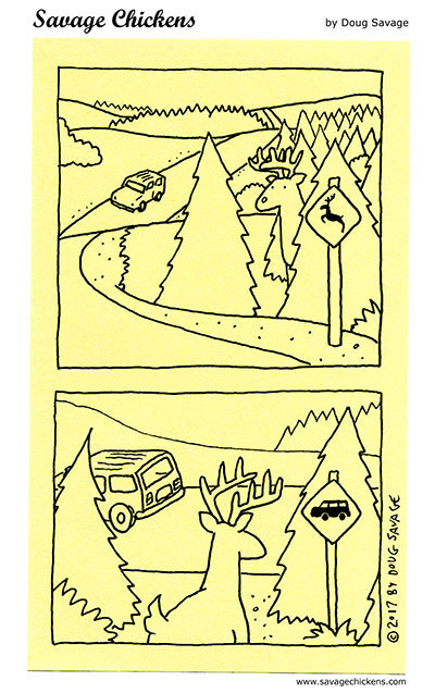 Savage Chickens by Doug Savage on Wed, 28 Apr 2021