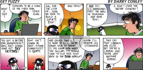 Get Fuzzy on Sunday October 6, 2013 Comic Strip