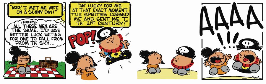 Pirate Mike Comic Strip for November 01, 2018