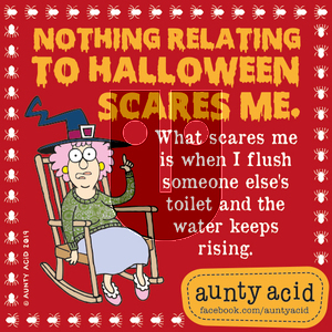 Aunty Acid on Thursday October 31, 2019 Comic Strip
