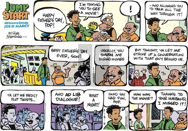 JumpStart on Sunday June 18, 2017 Comic Strip