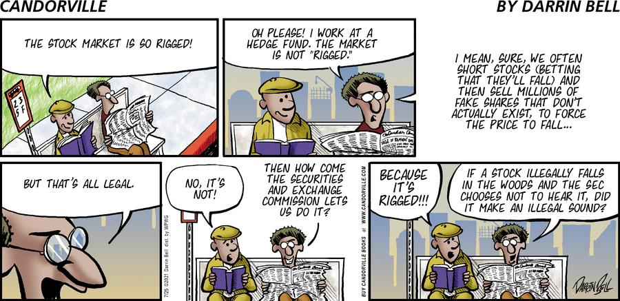 Candorville Comic Strip for July 25, 2021