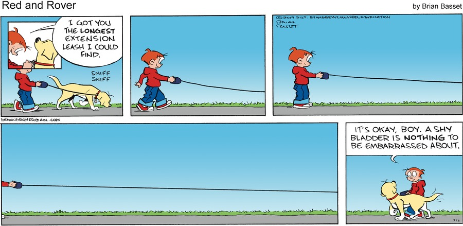 Red and Rover by Brian Basset for March 03, 2019