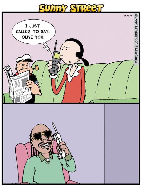 Sunny Street Comic Strip for January 14, 2015