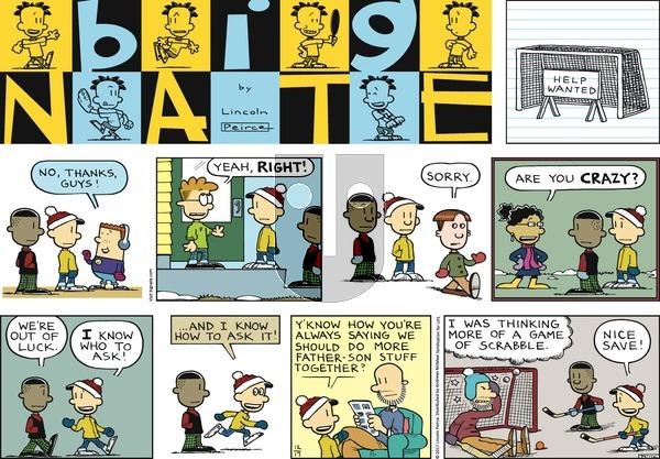 Big Nate on Sunday December 17, 2017 Comic Strip