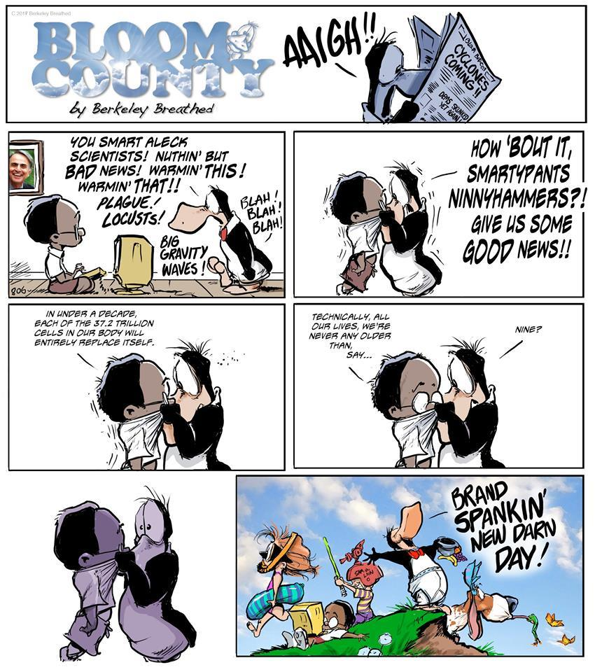Bloom County 2019 by Berkeley Breathed for September 26, 2019
