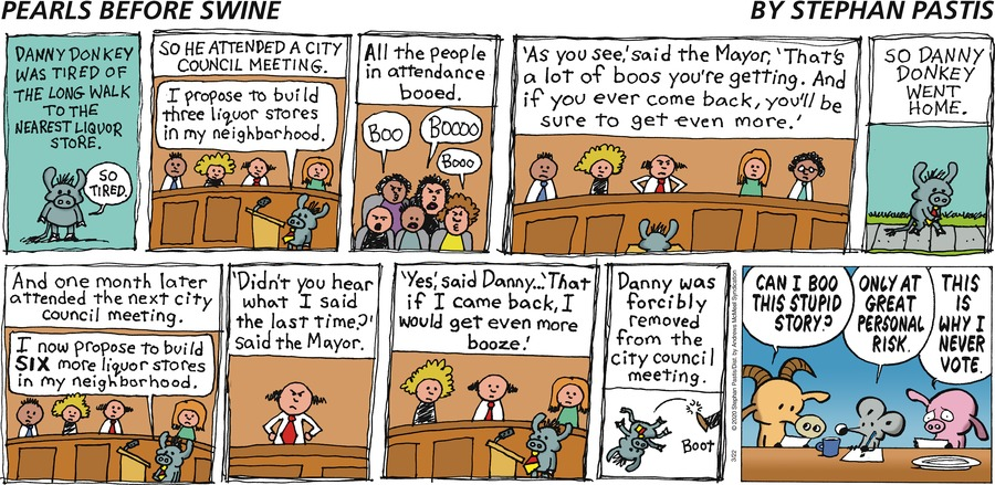 Pearls Before Swine Comic Strip for March 22, 2020
