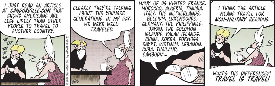 Candorville Comic Strip for August 20, 2020