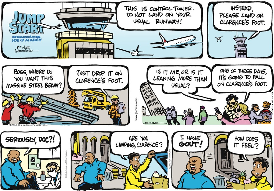 JumpStart Comic Strip for April 14, 2019