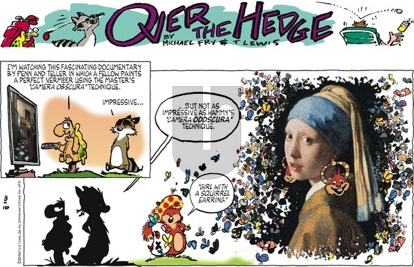 Over the Hedge on Sunday August 16, 2015 Comic Strip