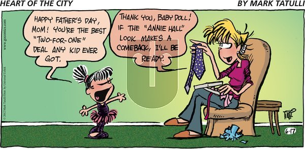 Heart of the City on Sunday June 17, 2012 Comic Strip