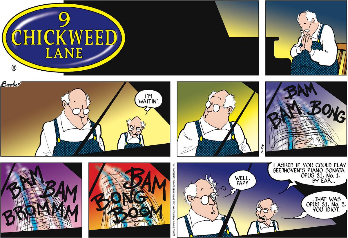 9 Chickweed Lane for Nov 24, 2002 Comic Strip