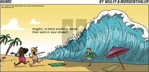WuMo on Sunday August 16, 2020 Comic Strip