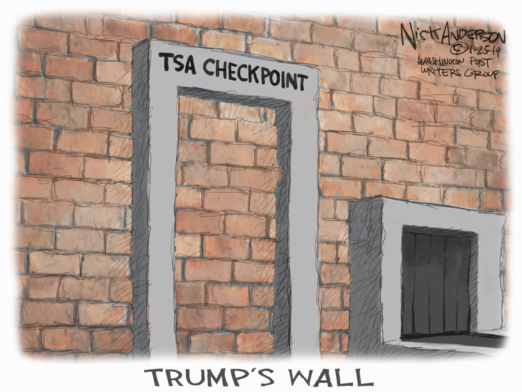 Nick Anderson Comic Strip for January 25, 2019