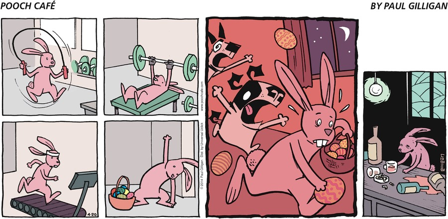 Pooch Cafe Comic Strip for April 20, 2014