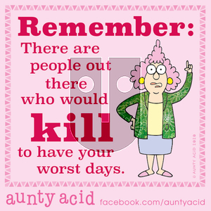 Aunty Acid - Monday January 20, 2020 Comic Strip