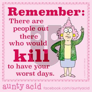 Aunty Acid on Monday January 20, 2020 Comic Strip
