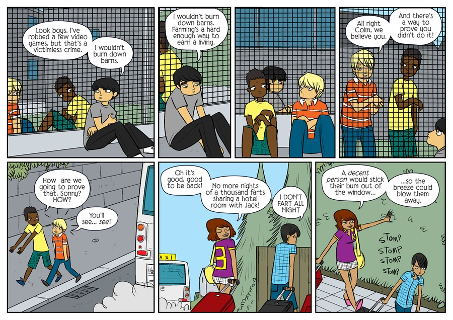 Bad Machinery Comic Strip for August 06, 2021
