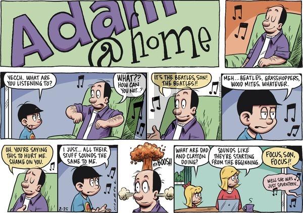 Adam@Home on Sunday February 25, 2018 Comic Strip