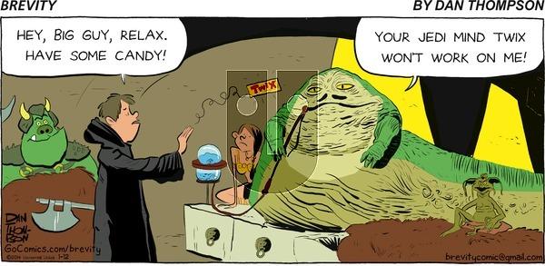 Brevity on Sunday January 12, 2014 Comic Strip