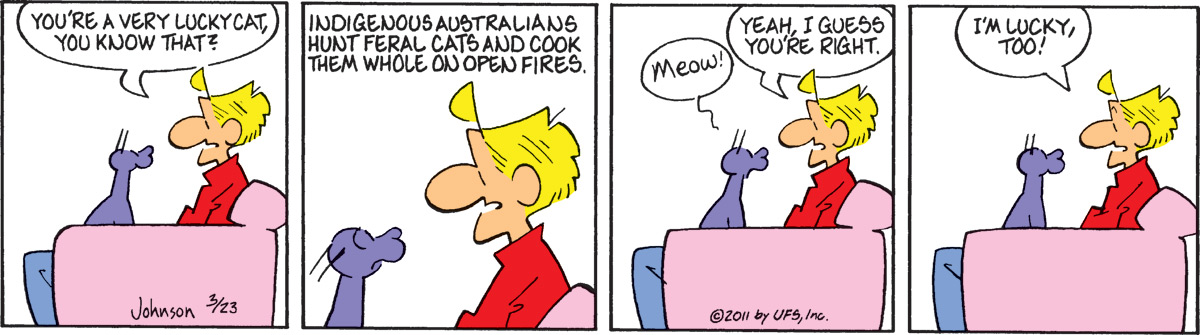 Arlo and Janis for Mar 23, 2011 Comic Strip