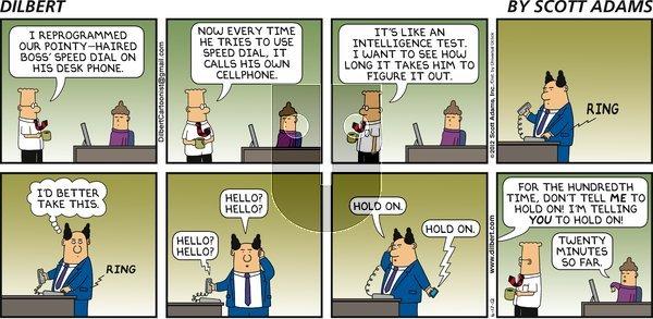 Dilbert - Sunday June 17, 2012 Comic Strip