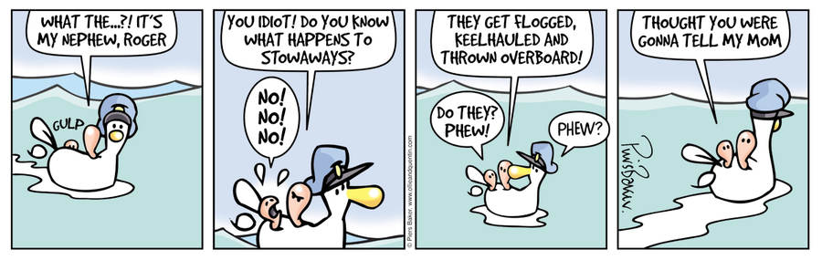 Ollie and Quentin Comic Strip for March 18, 2016