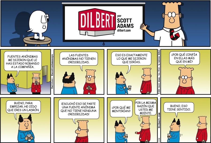 Dilbert en Español by Scott Adams on Sun, 06 Jun 2021